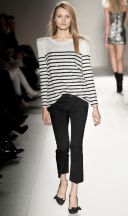 Breton stripes, balmain, fall 2009