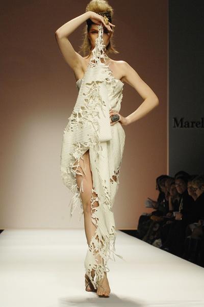 Sicilian fashion designer Marella Ferrera