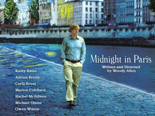 Midnight in Paris a Woody Allen film