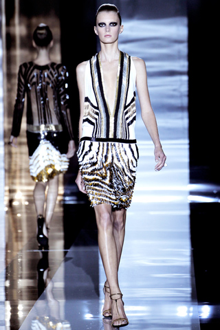Gucci dress from Gucci spring summer collection 2012