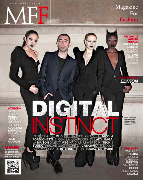 Nicola Formichetti cover shoot