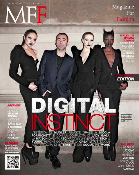 Nicola Formichetti cover shoot