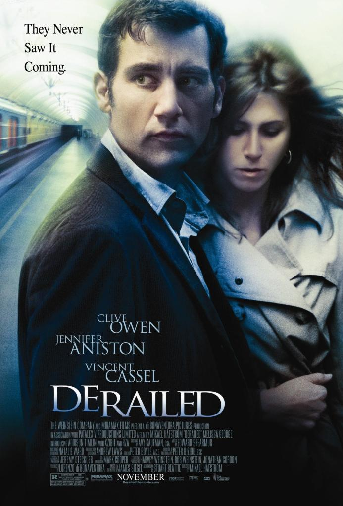 Derailed movieposter