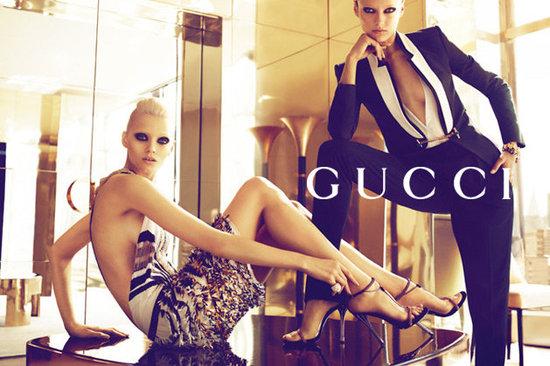Gucci Spring Summer 2012 ad campaign