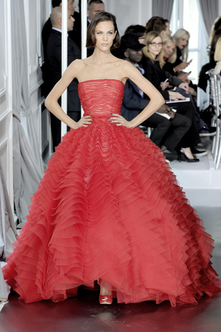 Christian Dior spring summer 2012 Haute Couture Collection