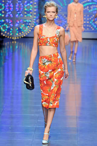 Dolce and Gabbana Spring Summer 2012 collection