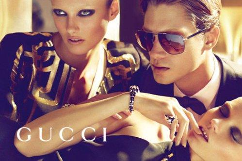 Gucci-Spring-Summer-2012 ad campaign shot by Mert Alas & Marcus Piggott