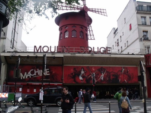 Moulin Rouge Quartier Pigalle