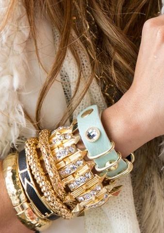 Bangles, bracelets, cuffs, jewelry