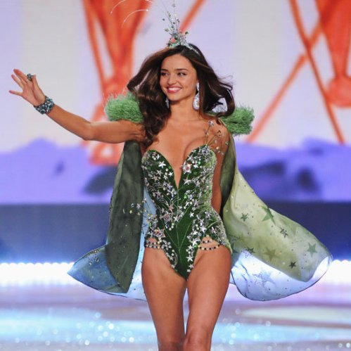 Miranda Kerr at Victoria's Secrets Fashion Show 2012