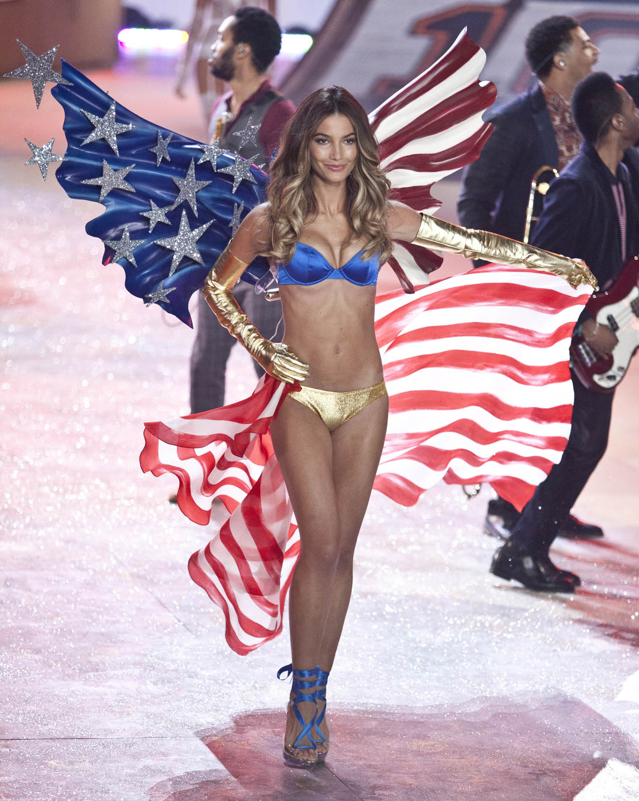 Lily Aldridge at the Victoria's Secret Fashion Show 2012