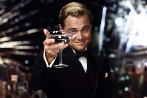 Leonardo DiCaprio as Gatsby
