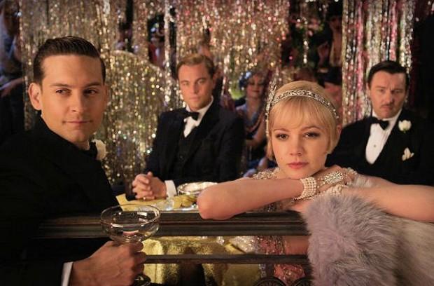 Daisy, Nick, Jay Gatsby and Tom