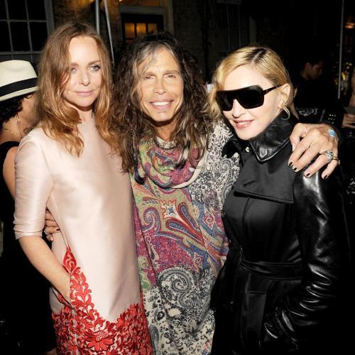 Madonna, Steve Tyler, Stella McCartney