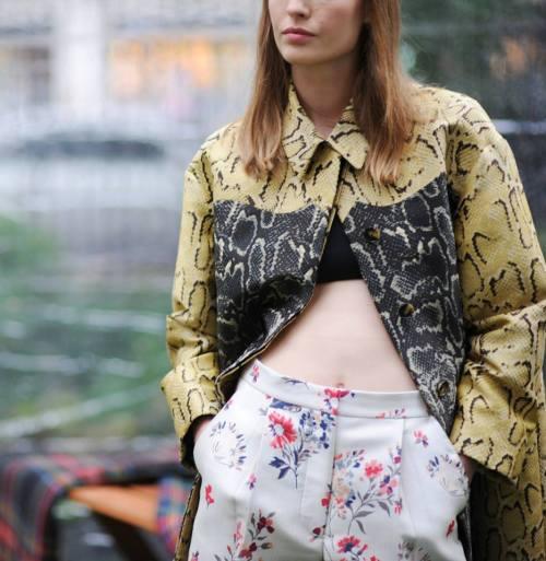Model wearing Stella McCartney Spring Summer 2014