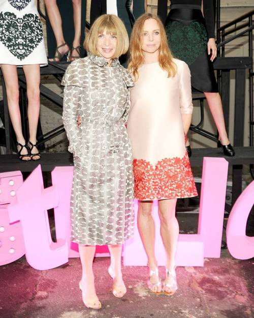 Anna Wintour and Stell McCartney