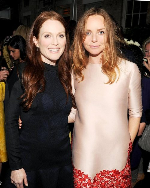 Stella McCartney with Julian Moore Spring Summer 2014 presentation