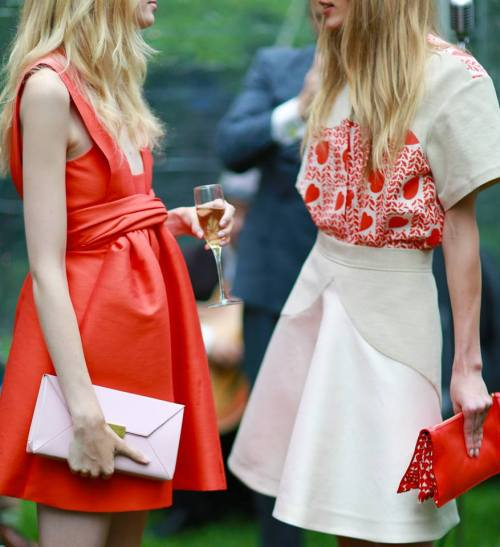 The models wearing Stella McCartney SS2014