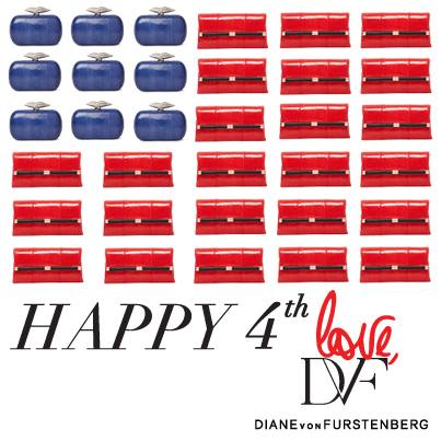 Diane Von Furstenburg - Happy 4th July