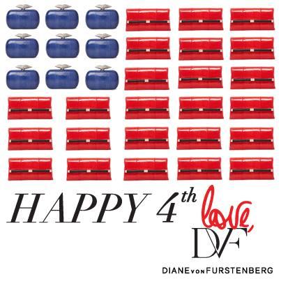 Diane Von Furstenburg - Happy 4th July