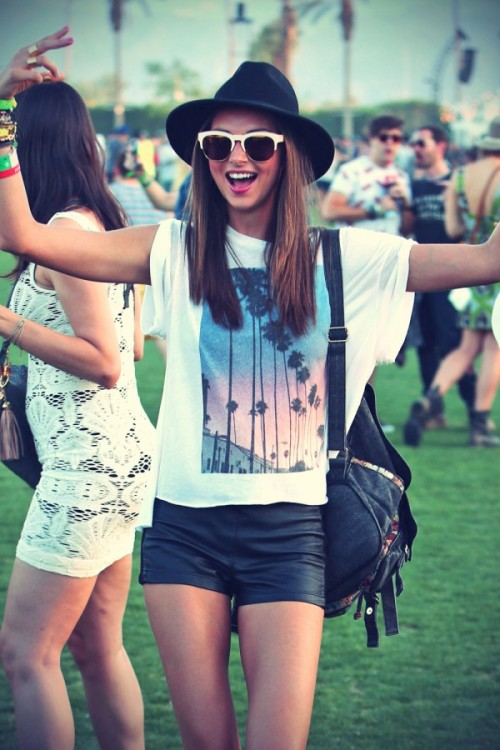 Miranda Kerr at Coachella